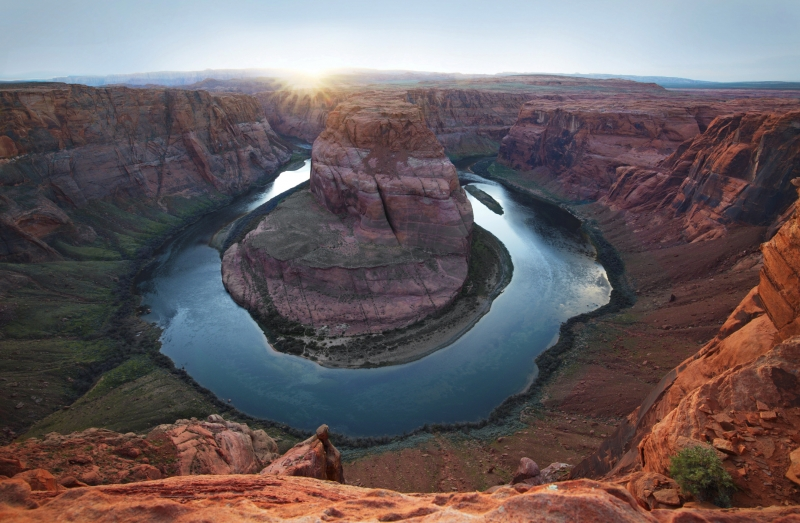 Sunset At Horseshoe Bend – Glen Canyon National Recreation Area