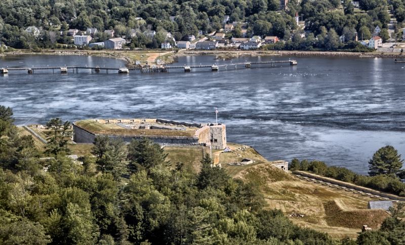Fort Knox And The Penobscot River Valley