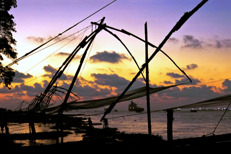 Chinese Fishing Nets @ Fort Cochin