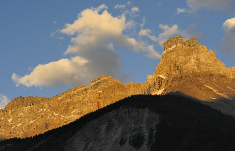 Cathedral Mountain Sunset (yoho Np)
