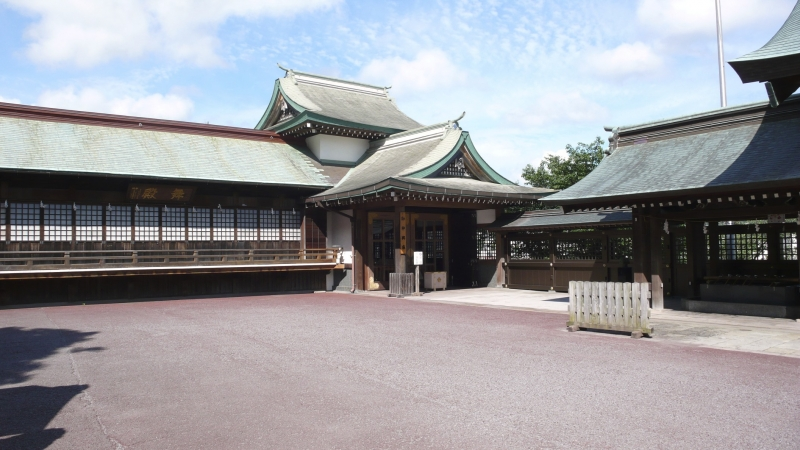Shinto Temple Grounds