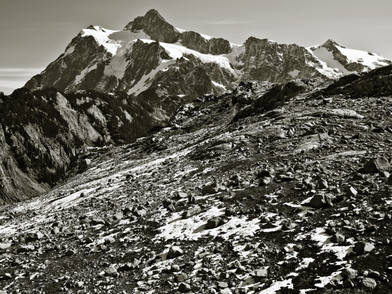 Mt Shuksan From Artist Ridge