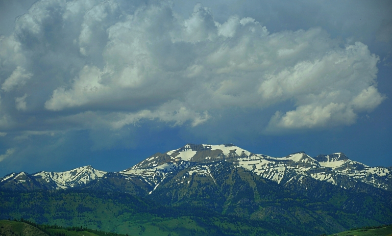 Storm Clouds Over The Tetons