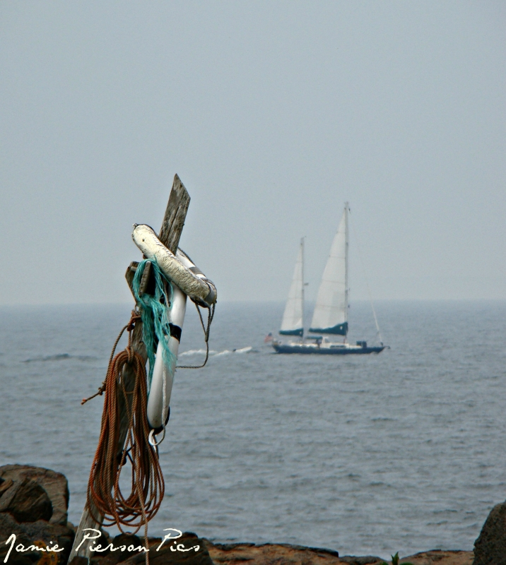 Sailboat In The Dstance