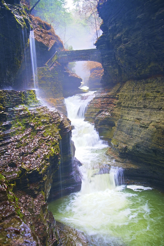 Watkins Glen State Park Color