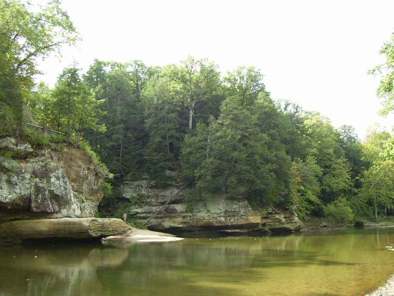 Sugar Creek, Turkey Run State Park