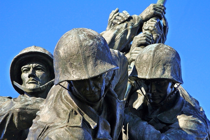 Iwo Jima Memorial Detail