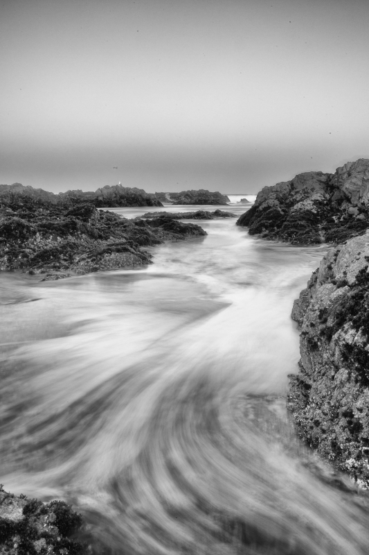 Rising Tide-asilomar Beach