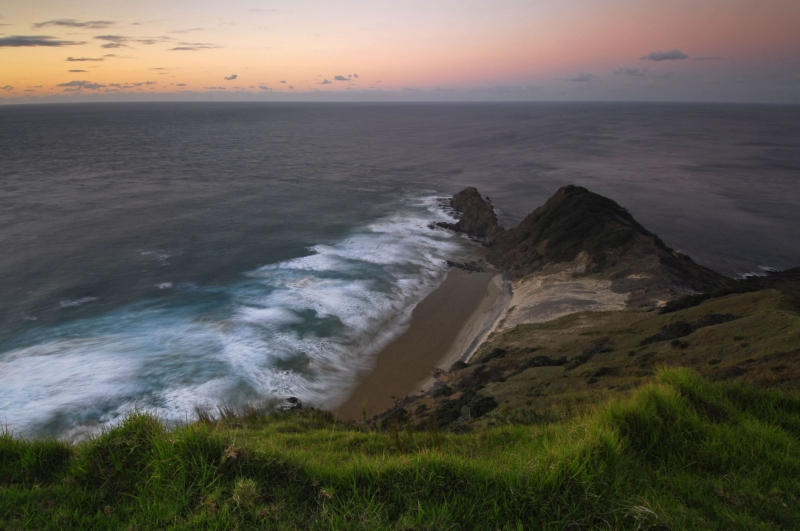 Cape Reinga At Sunset