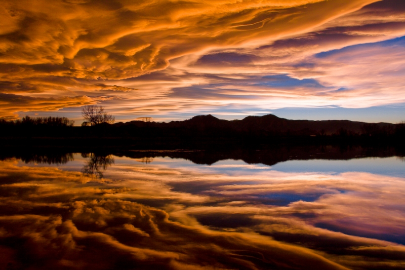 Liquid Sky Reflection