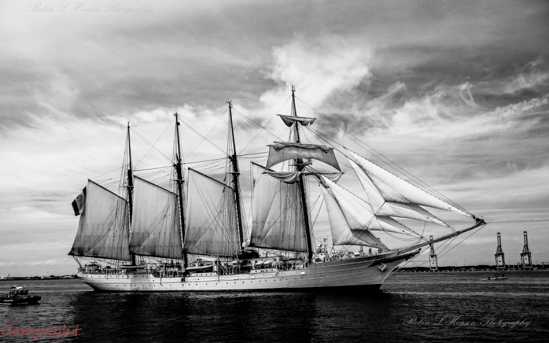 The Juan Sebastian  Tall Ship