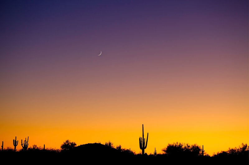 Sunset, Arizona Style