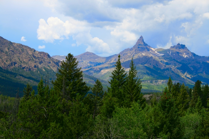Electric Peak Near Beartooth Pass