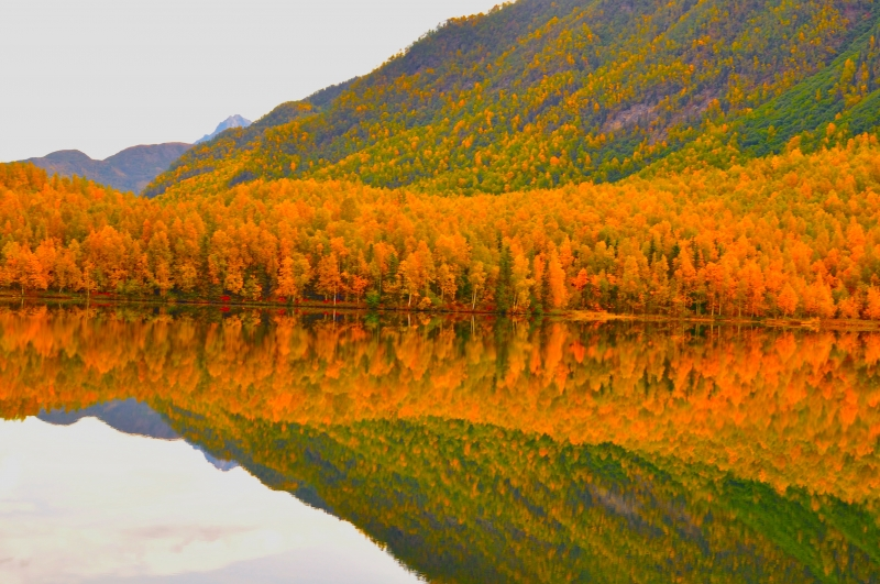 Mirror Lake In Fall Colors