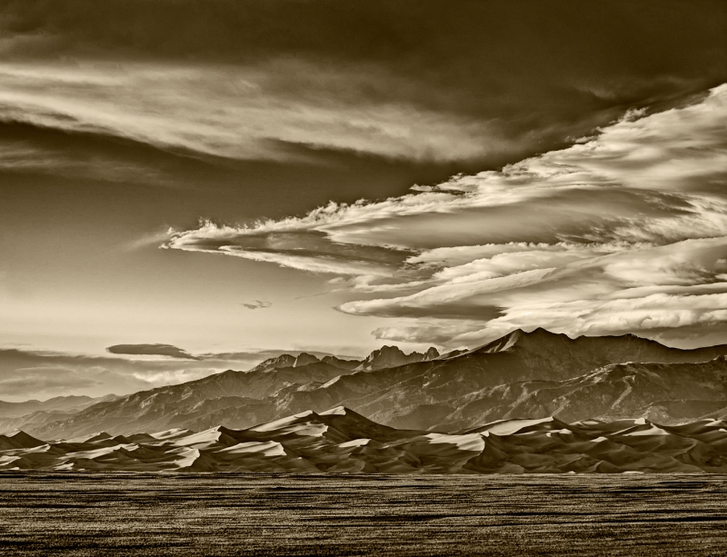 Cloud Bonanza Over Great Sand Dunes Np