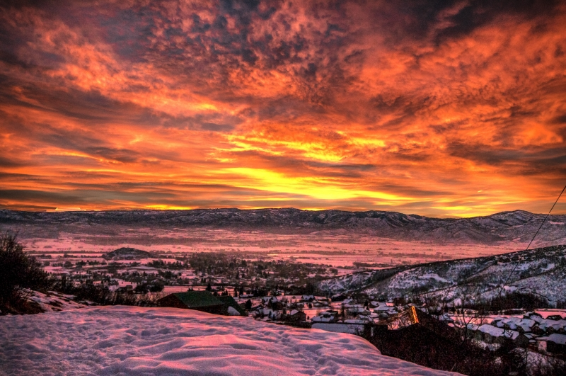 Heber Valley Sunrise