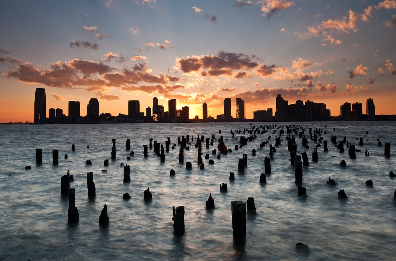 Jersey City Sunset