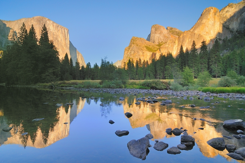 Reflection In Yosemite