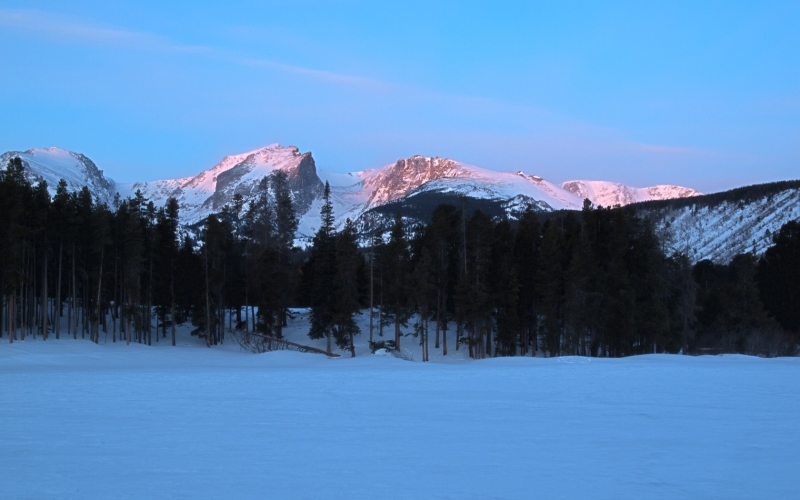 Mt. Hallet At Sunrise