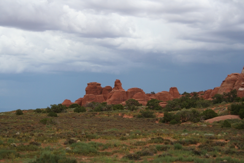 Storms Over Moab