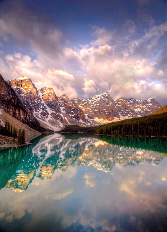 Sunrise, Moraine Lake