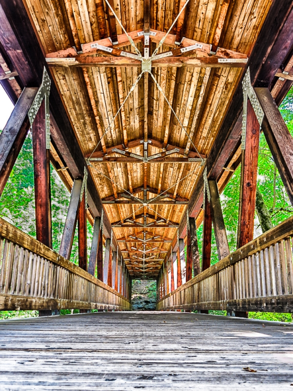 Vickery Creek Covered Bridge