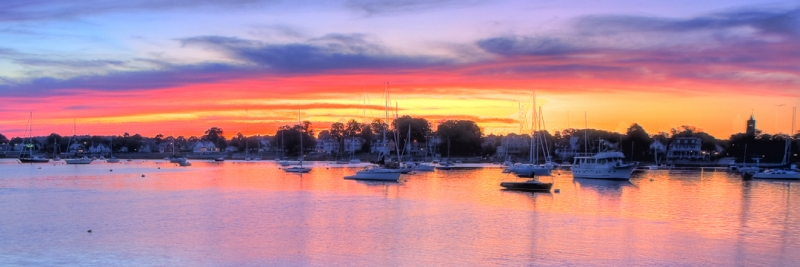 Newport, Sunrise Panorama