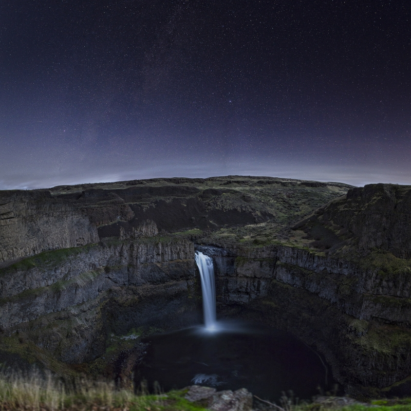 Palouse At Night