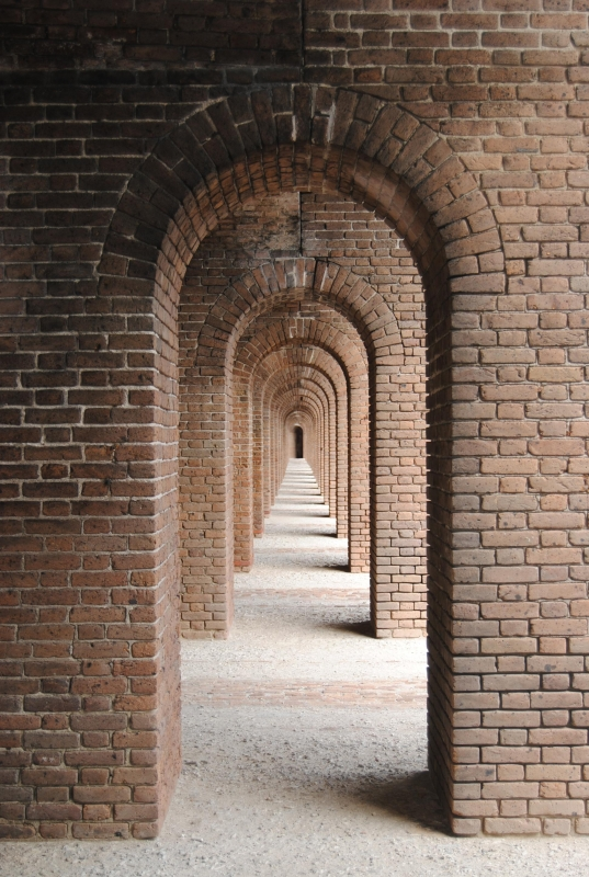 Arches Of Fort Jefferson, Dry Tortugas