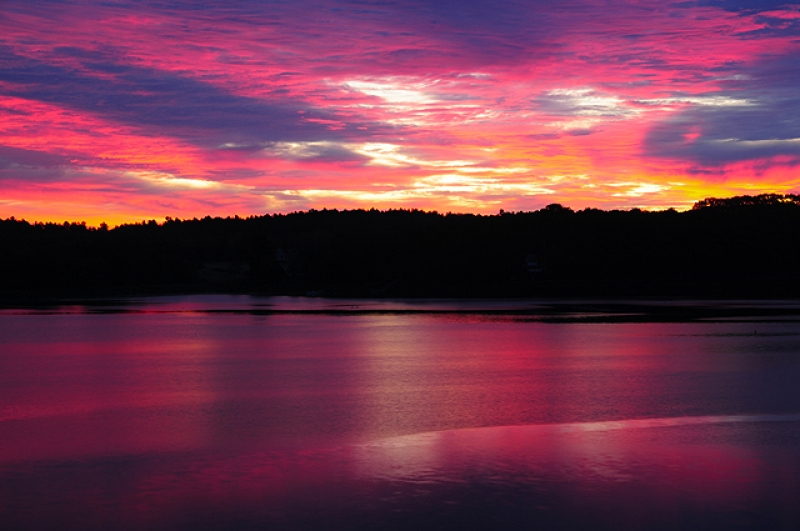 Sunrise On The New Meadows River