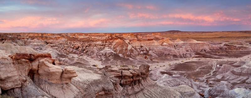 Sunset Over The Blue Mesa