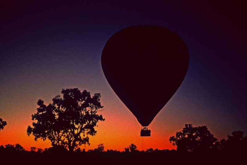 Early Morning Balloon Launch