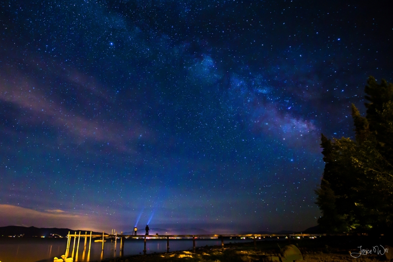 We Are Part Of This Universe – Milky Way Over Lake Tahoe
