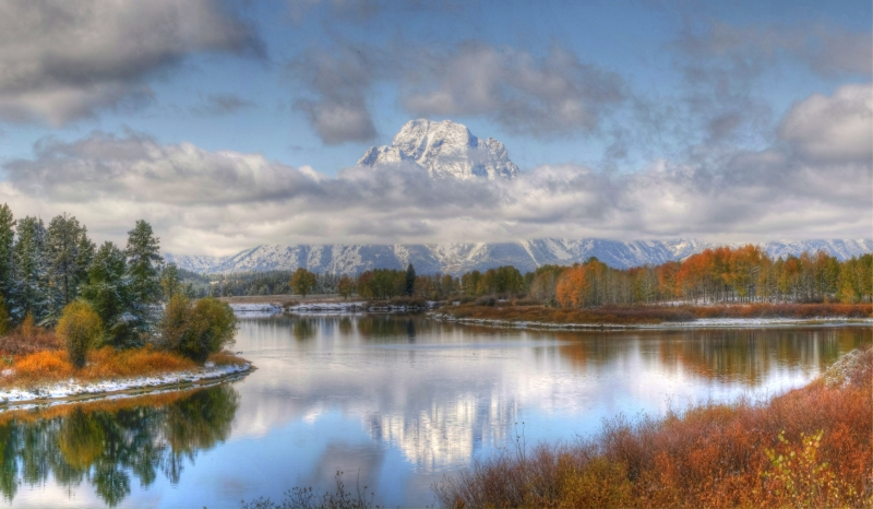 Autumn Splendor At Oxbow Bend