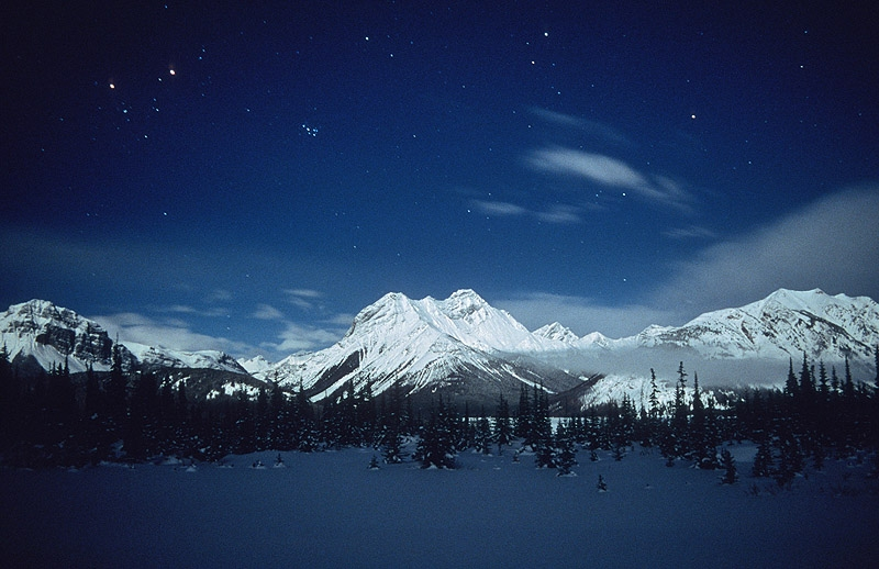 Cone Mountian Night