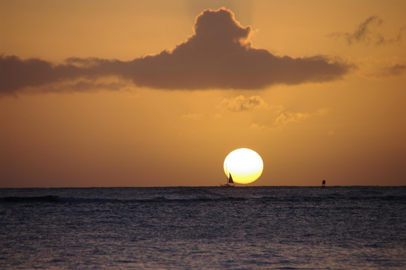 Hawaiian Sun Set