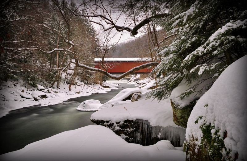Winter At The Mill