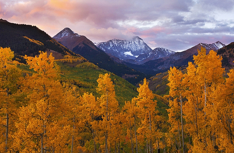 Autumn Capitol Peak – Snowmass, Colorado