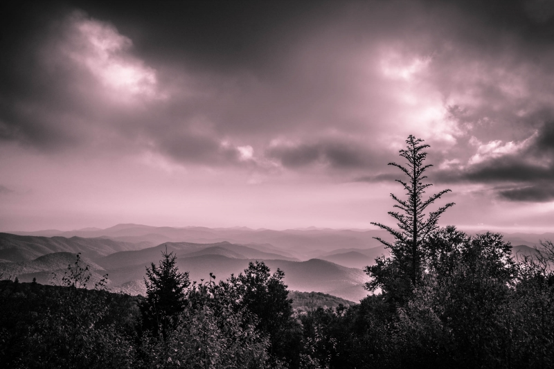 The Great Blue Ridge Mountains