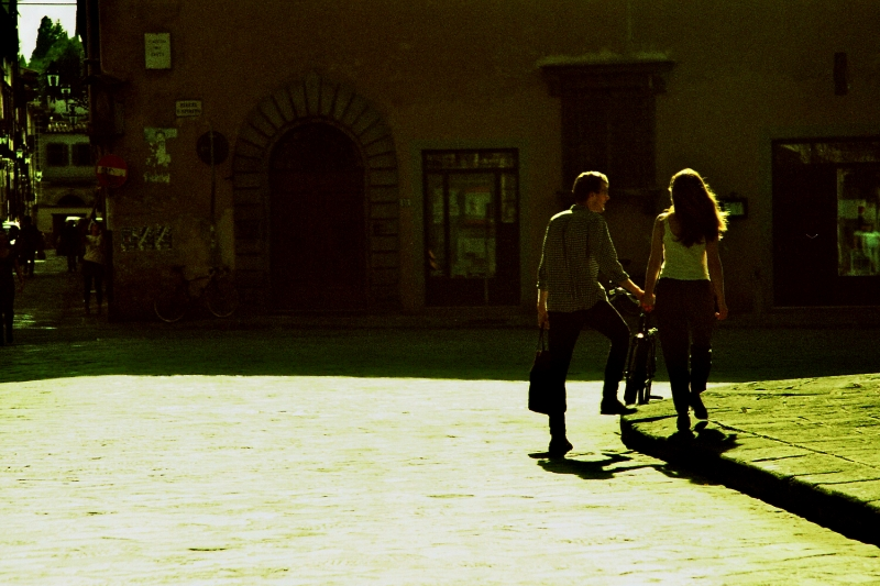 Lovers In Florence