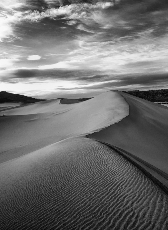 Two Little Feet, Mesquite Dunes – Death Valley National Park, California