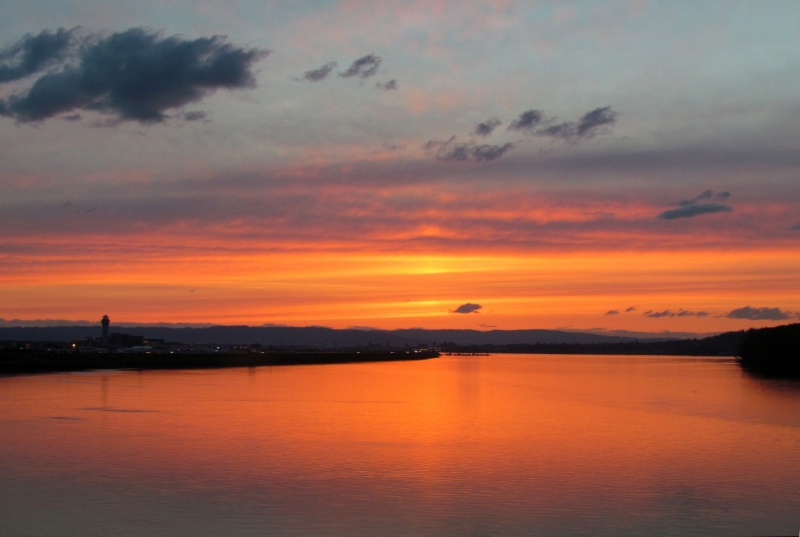 Columbia River Sunset2