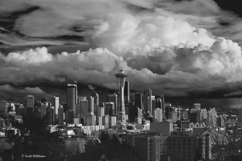 Seattle Before The Storm
