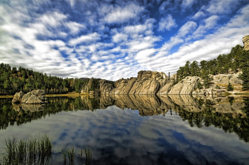 Sylvan Lake Reflection