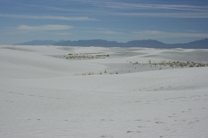 White Sands National Monument Dunes
