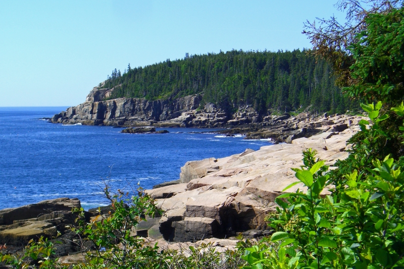 Hiking To Gorham Mountain In Acadia National Park, Maine
