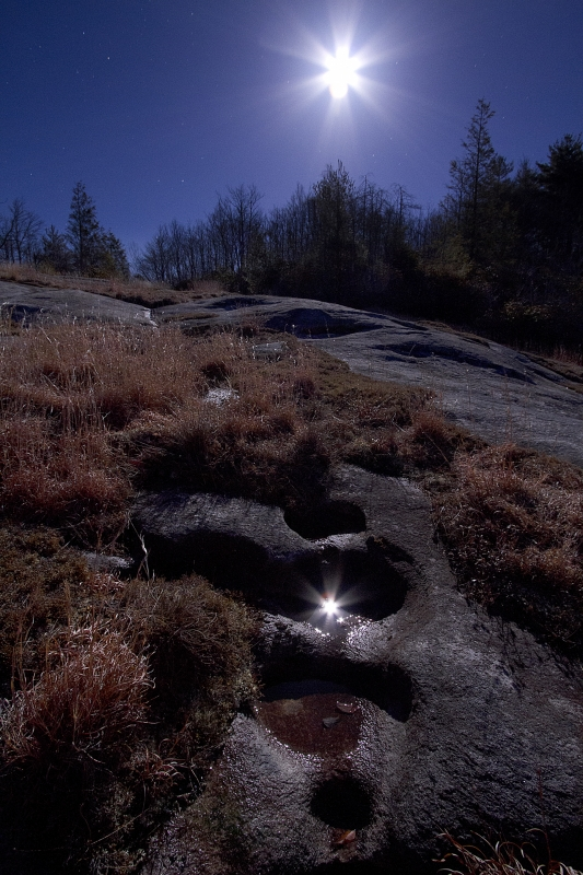 Moonshine Over Panthertown Valley