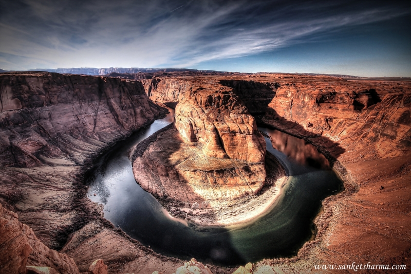 Incredible View Of Horse Shoe Bend