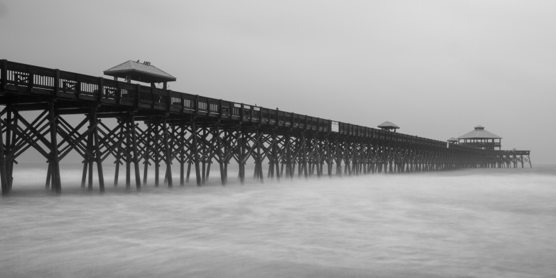 Rain On Folly Beach