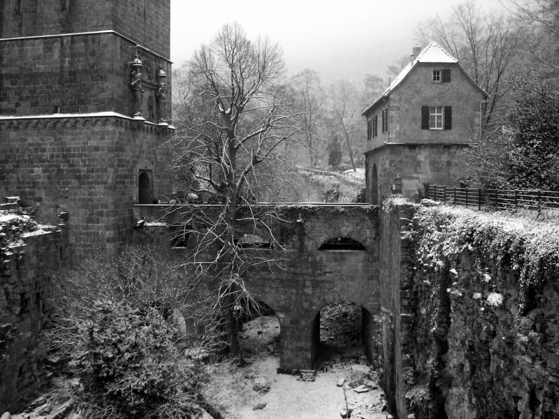 Heidelberg Castle Winter